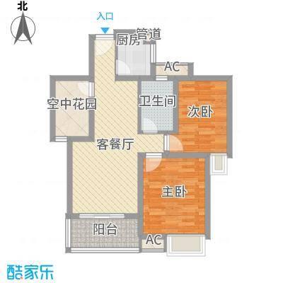 香江壹品89.00㎡G户型3室2厅1卫1厨