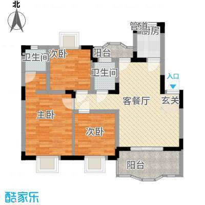 大信花园深圳大信花园一期户型图6户型10室