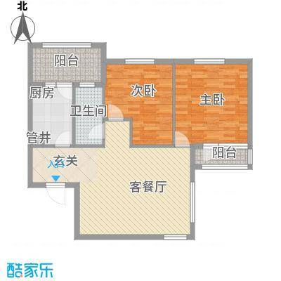 中海英伦观邸中海英伦观邸2室户型2室