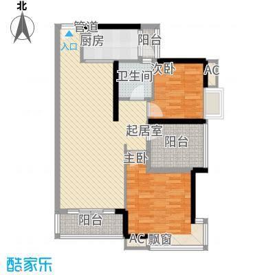 名流印象花园86.00㎡名流印象花园86.00㎡10室户型10室