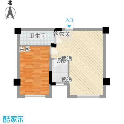 颐和香榭62.00㎡颐和香榭户型图户型图1室1厅1卫1厨户型1室1厅1卫1厨
