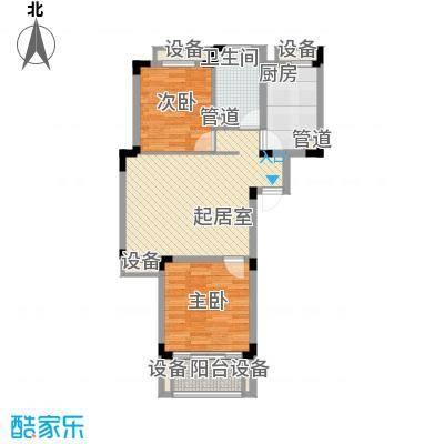 左邻右里左邻右里2室1厅1卫1厨户型2室1厅1卫1厨