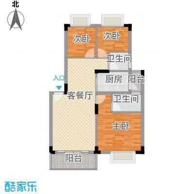 锦绣江南二期锦绣江南二期3室户型3室