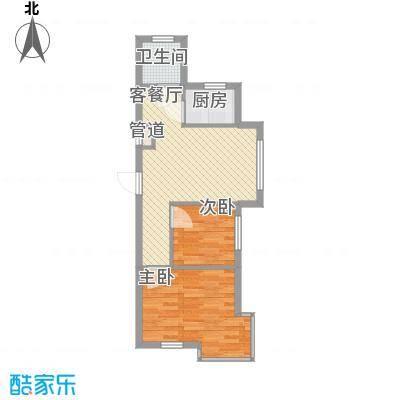 香洲心城60.00㎡香洲心城户型10室