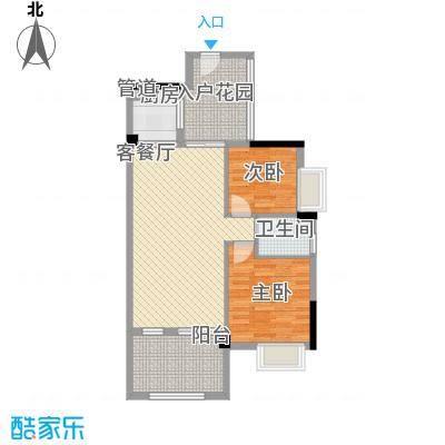 中航格澜郡二期59.00㎡深圳中航格澜郡二期户型图13户型10室