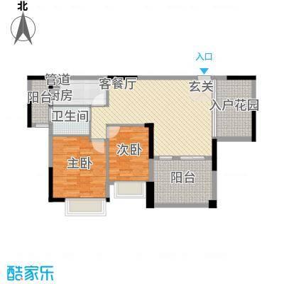 中航格澜郡二期67.00㎡深圳中航格澜郡二期户型图16户型10室