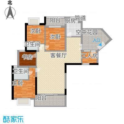 优品建筑147.00㎡优品建筑4室户型4室