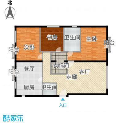 前城国际花园七十二坊148.00㎡A户型3室2厅2卫1厨