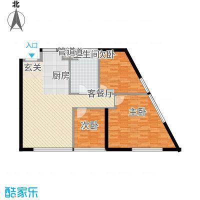 樱花园樱花园3室户型3室