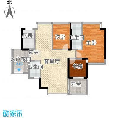 锦绣江南四期深圳锦绣江南四期户型图4户型10室