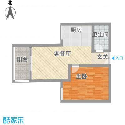 惠鑫公寓27.00㎡惠鑫公寓1室户型1室