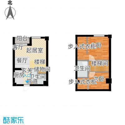 悦泰街里项目悦泰街里项目户型图8#公寓63.3S户型图户型10室