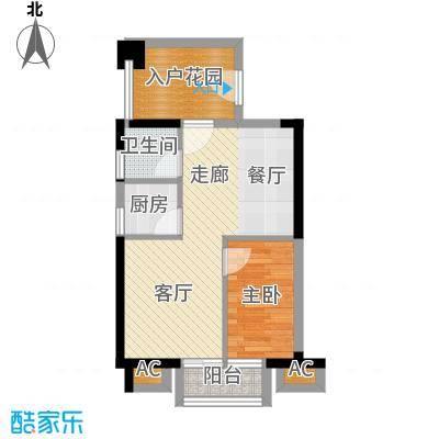 锦绣花园(宝安)锦绣花园(宝安)户型图户型图1室2厅1卫1厨户型1室2厅1卫1厨