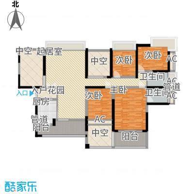龙岸花园别墅龙岸花园别墅户型图2期6栋C+D双湖大宅06-28偶数层户型10室