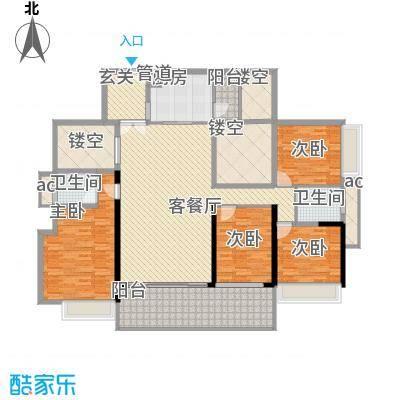 龙岸花园别墅龙岸花园别墅户型图2期6栋E+F双湖大宅05-27奇数层户型10室