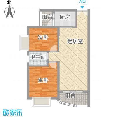 高正豪景花园42.00㎡高正豪景花园2室户型2室