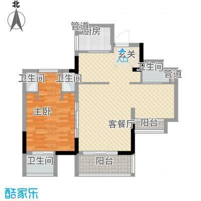 万科棠樾住宅陶山居B2户型10室