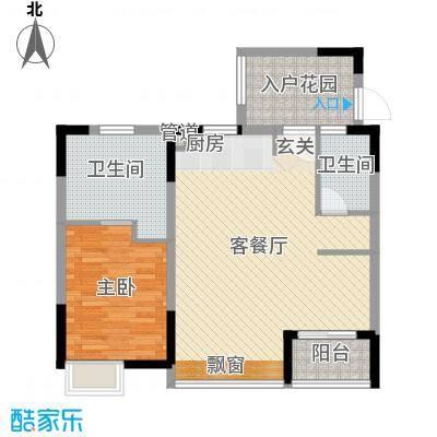 万科棠樾住宅陶山居B6户型10室