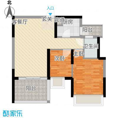 金地梅陇镇二期76.80㎡深圳金地梅陇镇二期户型图4户型10室