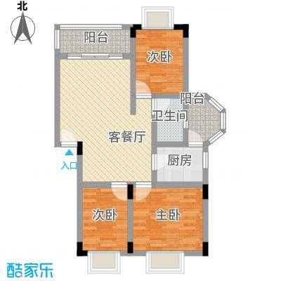 美丽家园深圳美丽家园户型图3户型10室