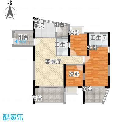 金地梅陇镇四期126.00㎡金地梅陇镇四期4室户型4室