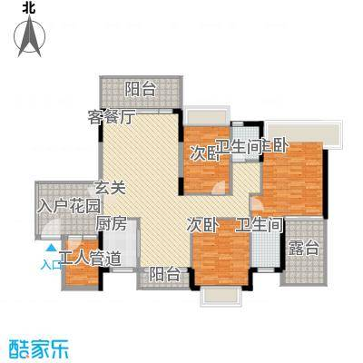 桂冠华庭桂冠华庭户型图I户型3室2厅2卫户型3室2厅2卫