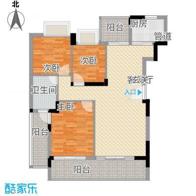 桂冠华庭桂冠华庭户型图G2户型3室2厅1卫户型3室2厅1卫