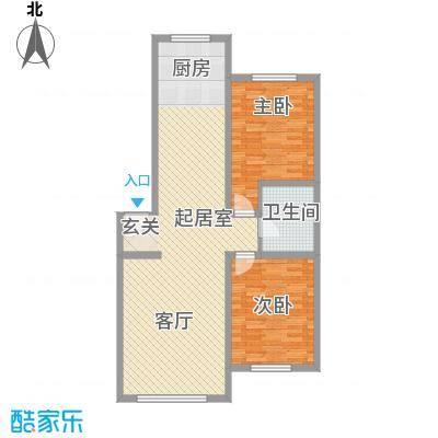 山水家园112.37㎡山水家园户型10室