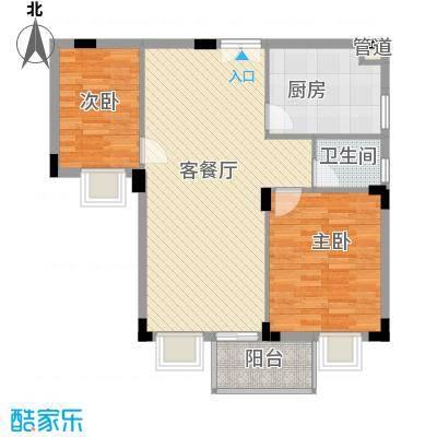 新阳丽舍户型图户型图 2室2厅1卫1厨