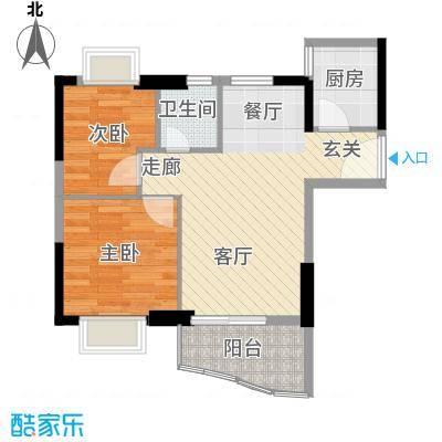 雅仕荔景苑雅仕荔景苑户型图2室2厅1卫1厨户型10室