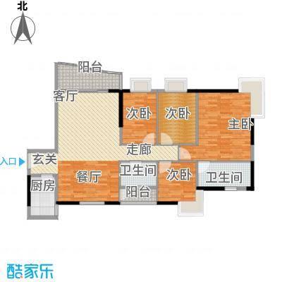 雅仕荔景苑雅仕荔景苑户型图4室2厅2卫1厨户型10室