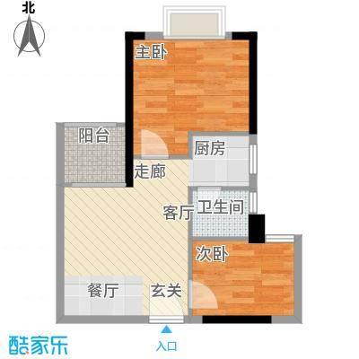 雅仕荔景苑雅仕荔景苑户型图2室1厅1卫1厨户型10室