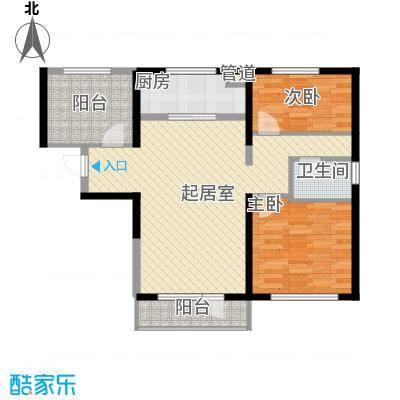 万科溪之谷93.00㎡万科溪之谷户型图114#、115#楼B户型3室2厅1卫1厨户型3室2厅1卫1厨