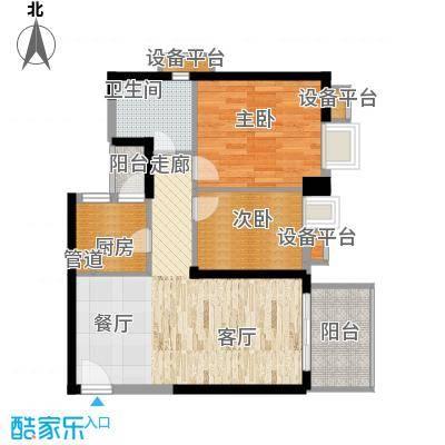 半岛城邦二期89.00㎡半岛城邦二期2室户型2室