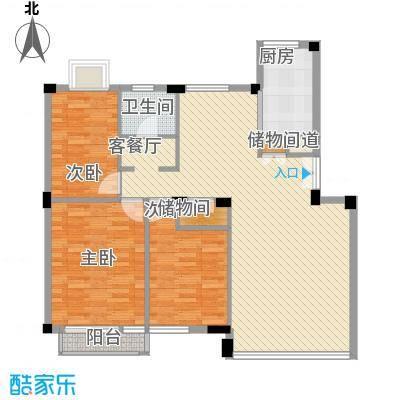 幸福E家二期108.35㎡福祥园(幸福E家二期)3室户型3室