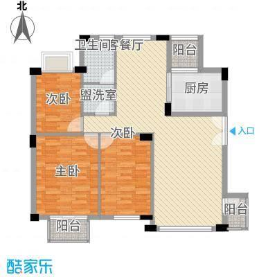 幸福E家二期109.02㎡福祥园(幸福E家二期)3室户型3室