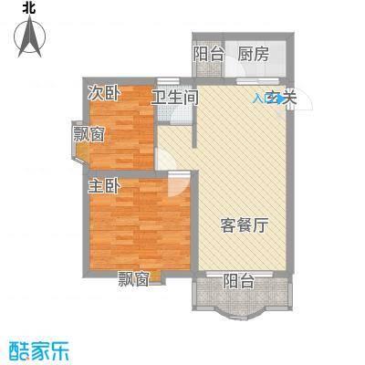 滢水山庄70.00㎡滢水山庄一区2室户型2室