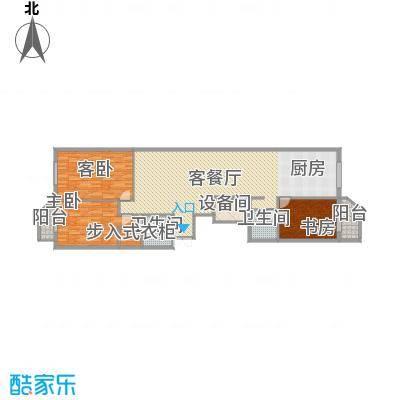 金玉星海176.00㎡金玉星海户型图户型图3室2厅2卫1厨户型3室2厅2卫1厨