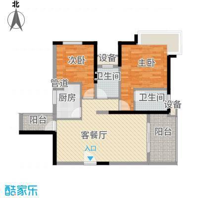 东华明珠园深圳东华明珠园户型图2户型10室