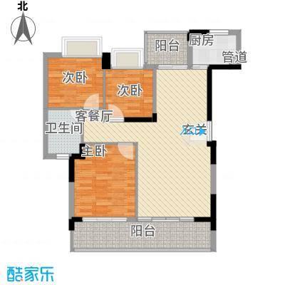 桂冠华庭桂冠华庭户型图G1户型3室2厅1卫户型3室2厅1卫
