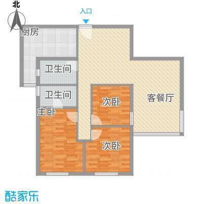 宝城花园宝城花园户型图2户型10室