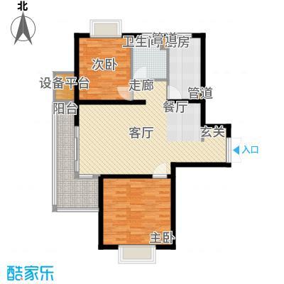 祥和星宇花园90.00㎡祥和星宇花园户型图90平米户型图2室2厅1卫1厨户型2室2厅1卫1厨