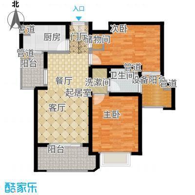 西康路98988.77㎡西康路989户型图D户型2室2厅1卫1厨户型2室2厅1卫1厨