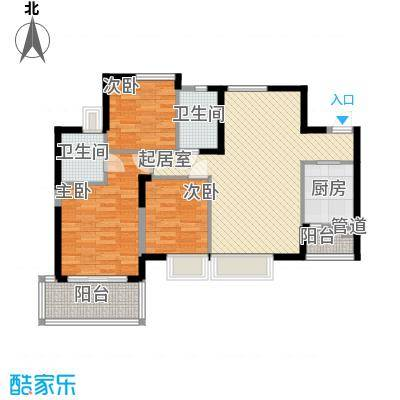 海怡东方花园112.69㎡深圳海怡东方花园户型图2户型10室