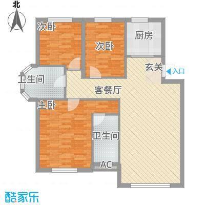 温莎小镇103.00㎡温莎小镇户型图13#、15#、18#、20#、22#楼E户型3室2厅2卫户型3室2厅2卫