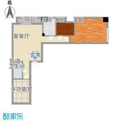 红星国际广场116.68㎡红星国际广场户型图3#楼C1户型3室2厅1卫1厨户型3室2厅1卫1厨