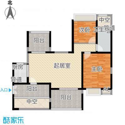 龙岸花园别墅龙岸花园别墅户型图3栋C座5-27奇数层户型10室