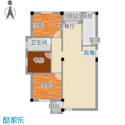 谷和温馨苑103.61㎡谷和温馨苑3室户型3室