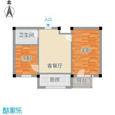 鹏辉裕景轩裕景轩2室户型2室1厅1卫1厨