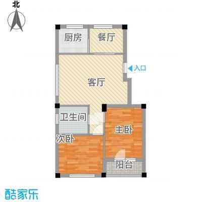 鹏辉裕景轩裕景轩2室户型2室2厅1卫1厨